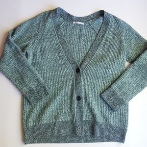 T Alexander Wang Cardigan Sweater Wool Cashmere L